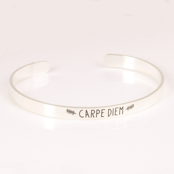 Latin Quotes About Friendship Cool Latin Quotes Charm Letter Bracelet