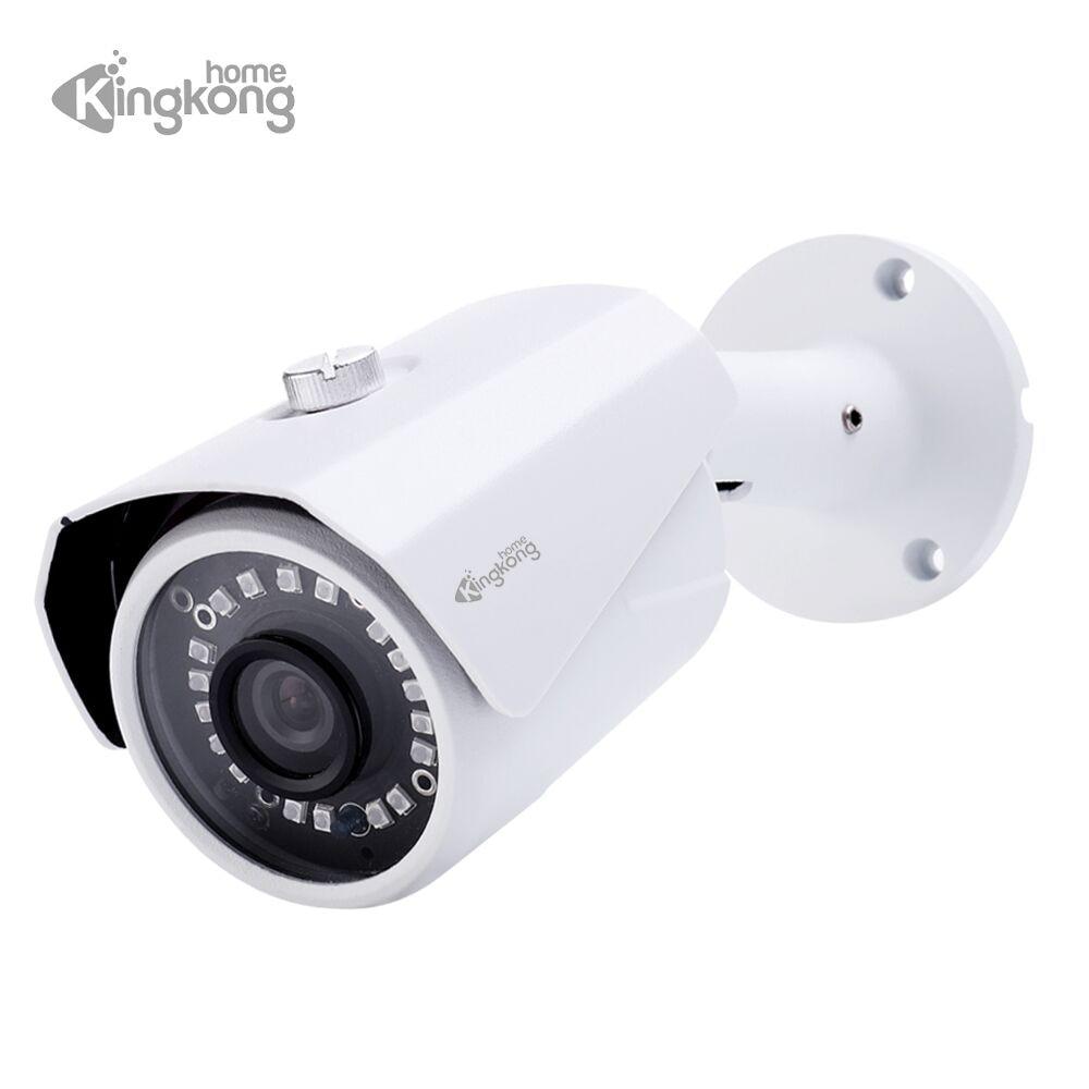 все цены на Kingkonghome Metal 1080P IP Camera ONVIF Surveillance Camera Video IP Cam CCTV Camera Network P2P Waterproof Outdoor Bullet Cam