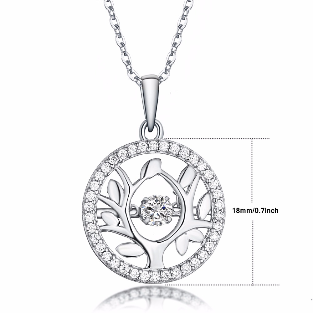 sterling diamonflash zirconia jewellery cubic life sup silver lifes necklace s tree