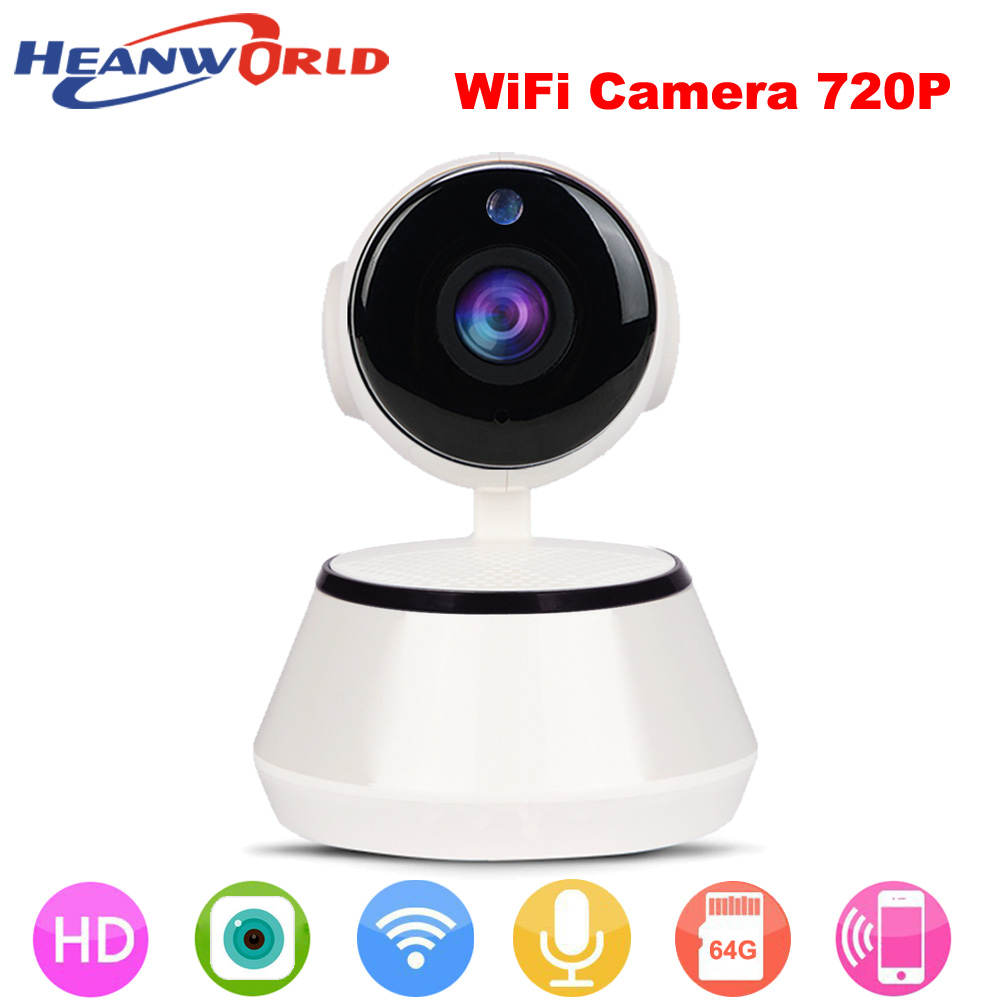 Security & Protection Heanworld 720p Camera Hd Ip Camera Wireless Home Security Surveillance Camera Play Ptz P2p Night Version Camera Baby Monitor Packing Of Nominated Brand Surveillance Cameras