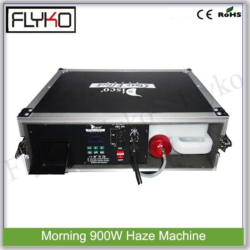 Утро 900 Вт дымка машина специальная система отопления туман оборудования с воздуха коробка белого цвета дым высокого качества конфигурации