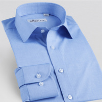 New Fashion Men Shirt Long Sleeve Man Dress Shirt Business Shirts Casual Slim Shirts For Man