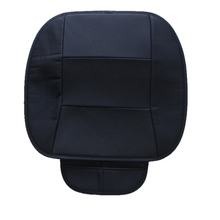 1PC PU Leather Black Front Car Cover Seat Protector Cushion Automotive interior accessories