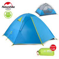 Naturehike Kit 3 Person Tent Outdoor Camping Tent 190T Fabric Waterproof NH16S00 S