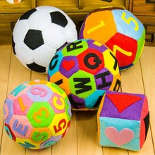 5 Styles of Balls Handmade Sewing Cloth Craft Toys For Children Gift Alphabet Football DIY Ball Exercise Body For Kids Craft Kit body craft f609