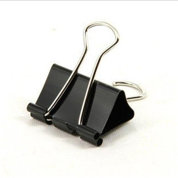 500 pcs big size 51mm color black foldback metal clips. Black Bedroom Furniture Sets. Home Design Ideas