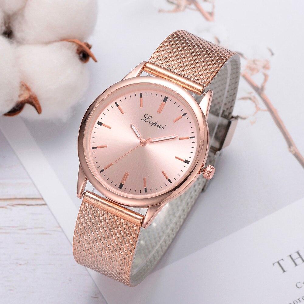 Lvpai Luxury Watch Women Dress Bracelet Watch Fashion Crystal Quartz Wristwatch Classic Ladies Casual Watch