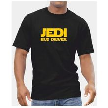 Jedi Bus Driver TShirt - Mens Star Wars Starwars Gift Coach Free shipping Harajuku Tops Fashion Classic Unique