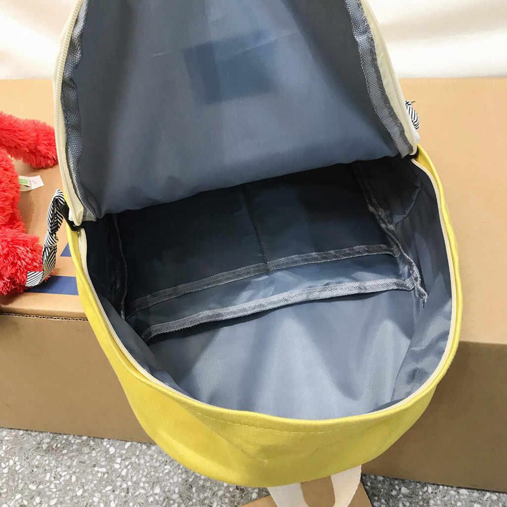 ファッションバックパック女性のレジャーバックパック韓国の女性ナップザックカジュアル旅行バッグ女の子クラシック Bagpack Mochila Feminina # TX