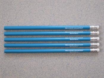 HB black wooden pencil wreath general wooden with eraser pencil bulk pencils