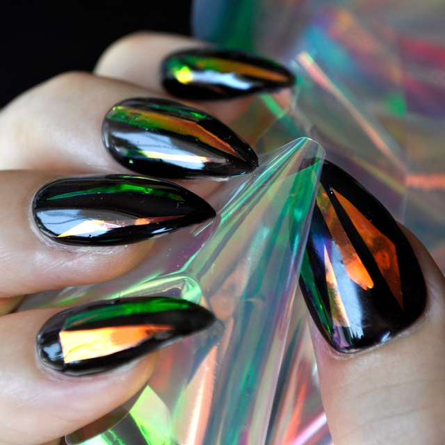 Red light nail foil diy holographic shiny nail art decoration red light nail foil diy holographic shiny nail art decoration sticker 1 meter sy680 prinsesfo Image collections