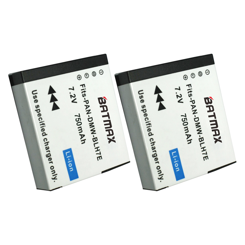 2pcs/lot DMW-BLH7 BLH7 DMW-BLH7PP DMW-BLH7E Batteries for Panasonic Lumix DMC-GM1, GM1, DMC-GM5, GM5, DMC-GF7, GF7, DMC-GF8, GF8