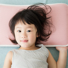 3D Baby Pilow Netting Fabric Breathe Washable Kids Children Soft Pillow 28*48*5cm Body Bedding Qualified Bedclothes