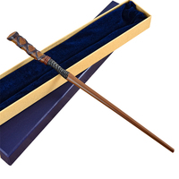 Newest Metal Core Deluxe COS George Weasley Magic Wand Harry Potter Magical Wand Kid Toys Gift