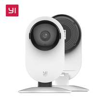 [International Edition]YI 1080p Home Camera Xiaoyi Wireless IP Security Surveillance Wifi Mini Camera 3D Noise Reduction+32Gcard