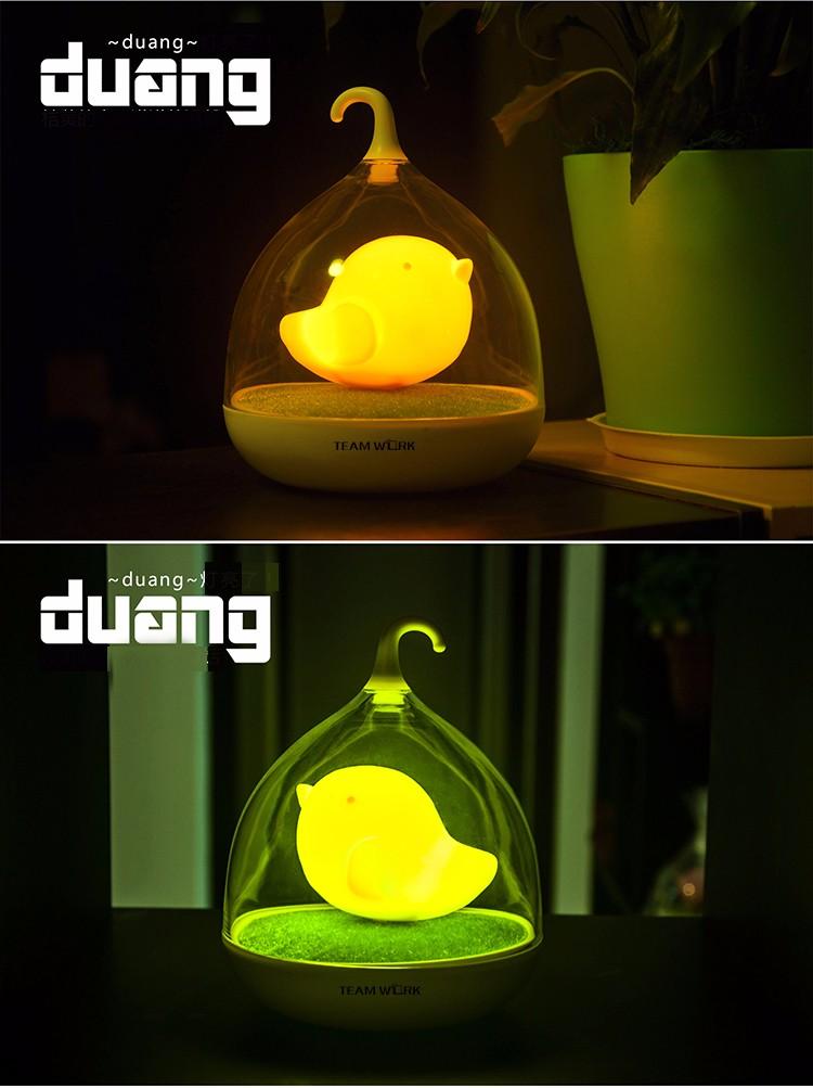 Đèn ngủ cảm biến ánh sáng