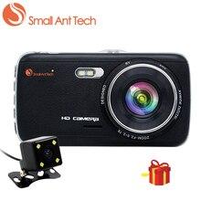 """Smallanttech видеорегистраторы автомобильные регистраторы DVR видеокамеры регистратор 4 """"IPS FHD 1080 P заднего вида Камера Ночное видение авто видео регистраторы dashcam"""