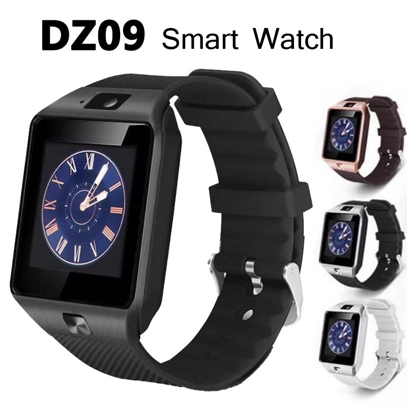 Dz09 Смарт часы с Камера <font><b>Bluetooth</b></font> наручные часы gsm Телефонный звонок SIM карты SmartWatch для <font><b>IOS</b></font> телефонах Android нескольких языков