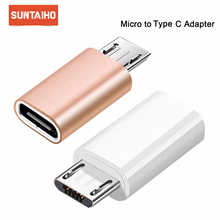Suntaiho Micro Usb Male To Type-c Microusb To Type C Converter Adapter for Huawei Macbook Oneplus Xiaomi Otg Data Charging cable