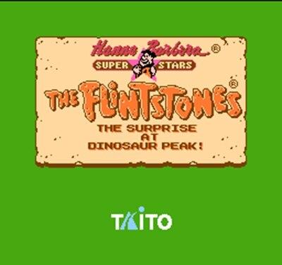 Флинстоуны 2-Сюрприз на динозавра пик 60 Булавки карточная игра для 8 бит subor игры