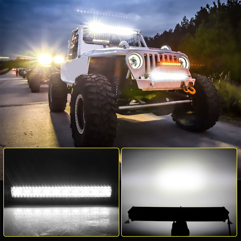 Image 5 - CO LIGHT 12D LED Light Bar 390W 585W 780W 936W 975W 4x4 Offroad Led Bar Combo Beam Led Work Light Bar for Trucks SUV ATV 12V 24V-in Light Bar/Work Light from Automobiles & Motorcycles