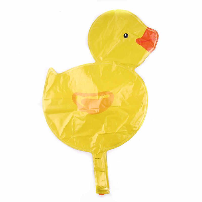 GOGO paity новые маленькие желтые утки алюмиевый воздушный шар детское оформление для празднования дня рождения ребенка полная луна сто дней макет
