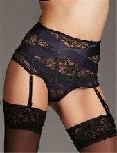Plus Size Garter Belt with Panties