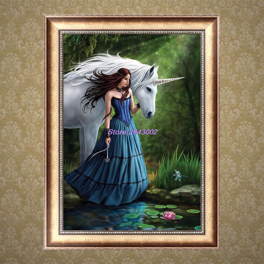 Horse arts and crafts - Horse Arts And Crafts Beauty Horse 5d Diamond Embroidery Diy Arts Crafts Sewing Cross Stitch