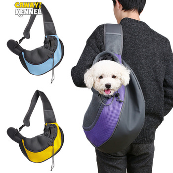 CAWAYI KENNEL Carrying Bags for Small Dogs Cats Front side Shoulder Bag Dog Backpack Carriers mochila para perro honden tassen