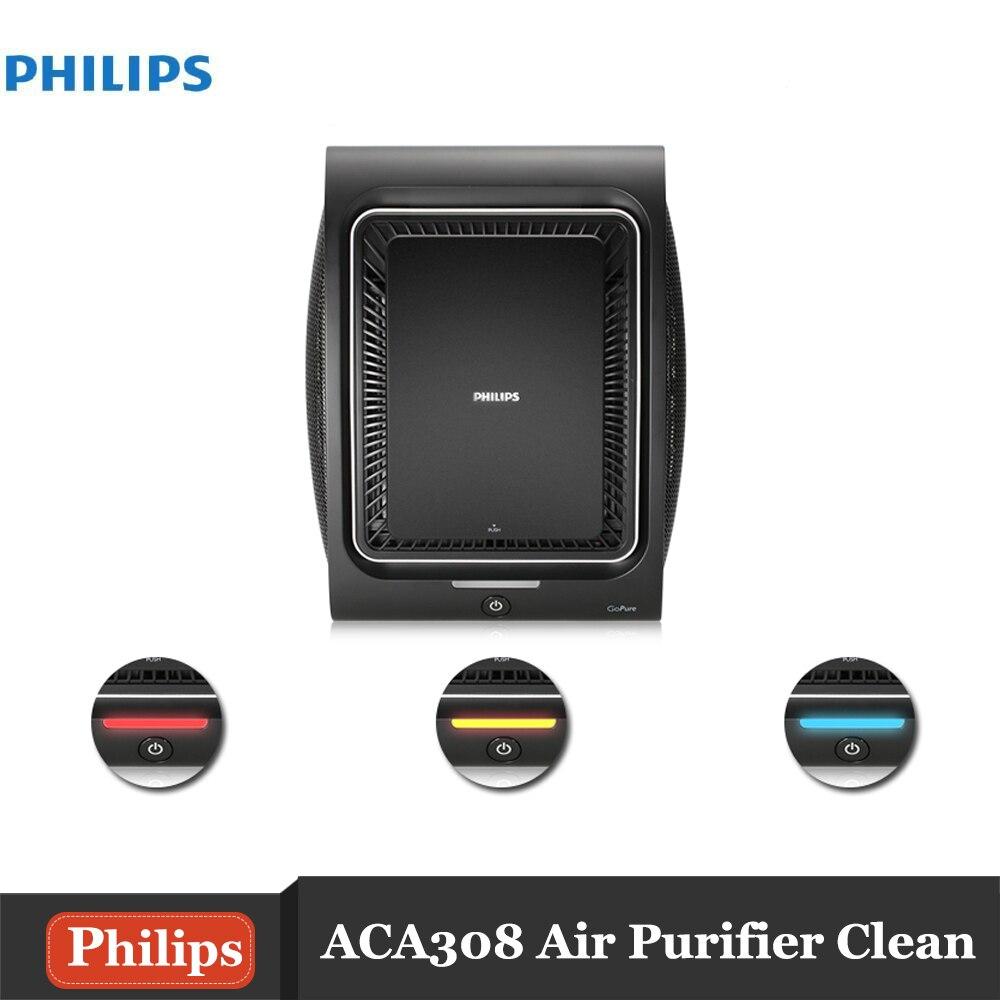 Philips GoPure ACA308 Car Air Purifier For Car Deodorizer Ozone Ionizer Generator Sterilization Germicidal Filter Disinfection