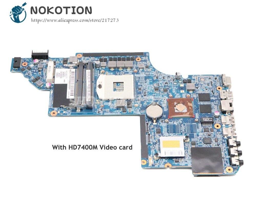 NOKOTION 665348-001 For HP Pavilion DV6 DV6-6000 Laptop Motherboard HM65 DDR3 HD7400M Video cardNOKOTION 665348-001 For HP Pavilion DV6 DV6-6000 Laptop Motherboard HM65 DDR3 HD7400M Video card