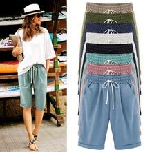 Lato kobiet pięć par spodni cienka odzież wierzchnia spodnie duże rozmiary kobiet spodnie 6XL dorywczo spodnie Harem spodnie plażowe