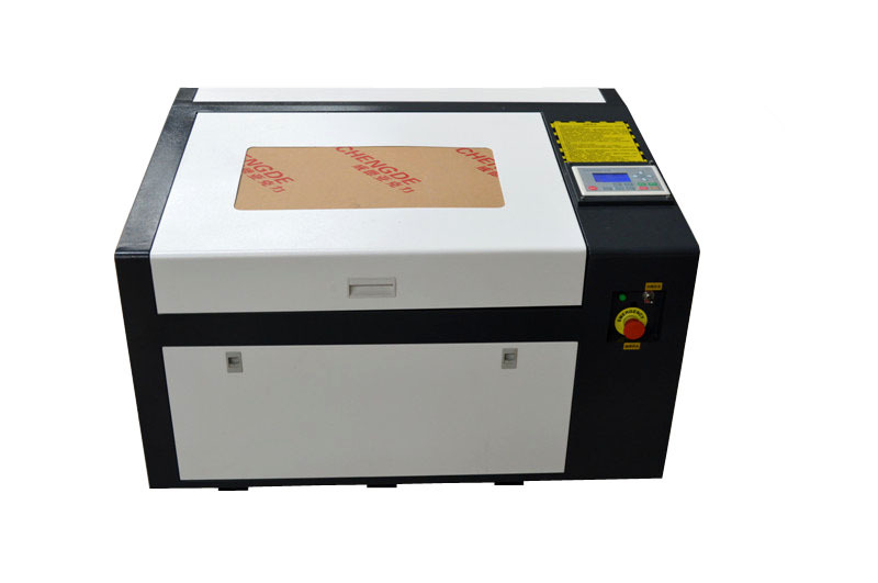 new LY 6040 PRO 50W high speed laser engraving machine support off line control speed line pro