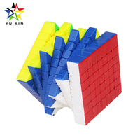 2018 YUXIN Rubiks Cube 7x7x7 Competition MAGNETIC Speed Magic Cube Twist Puzzle Toys For Children Gift Neo Cubes Fidget Cubo