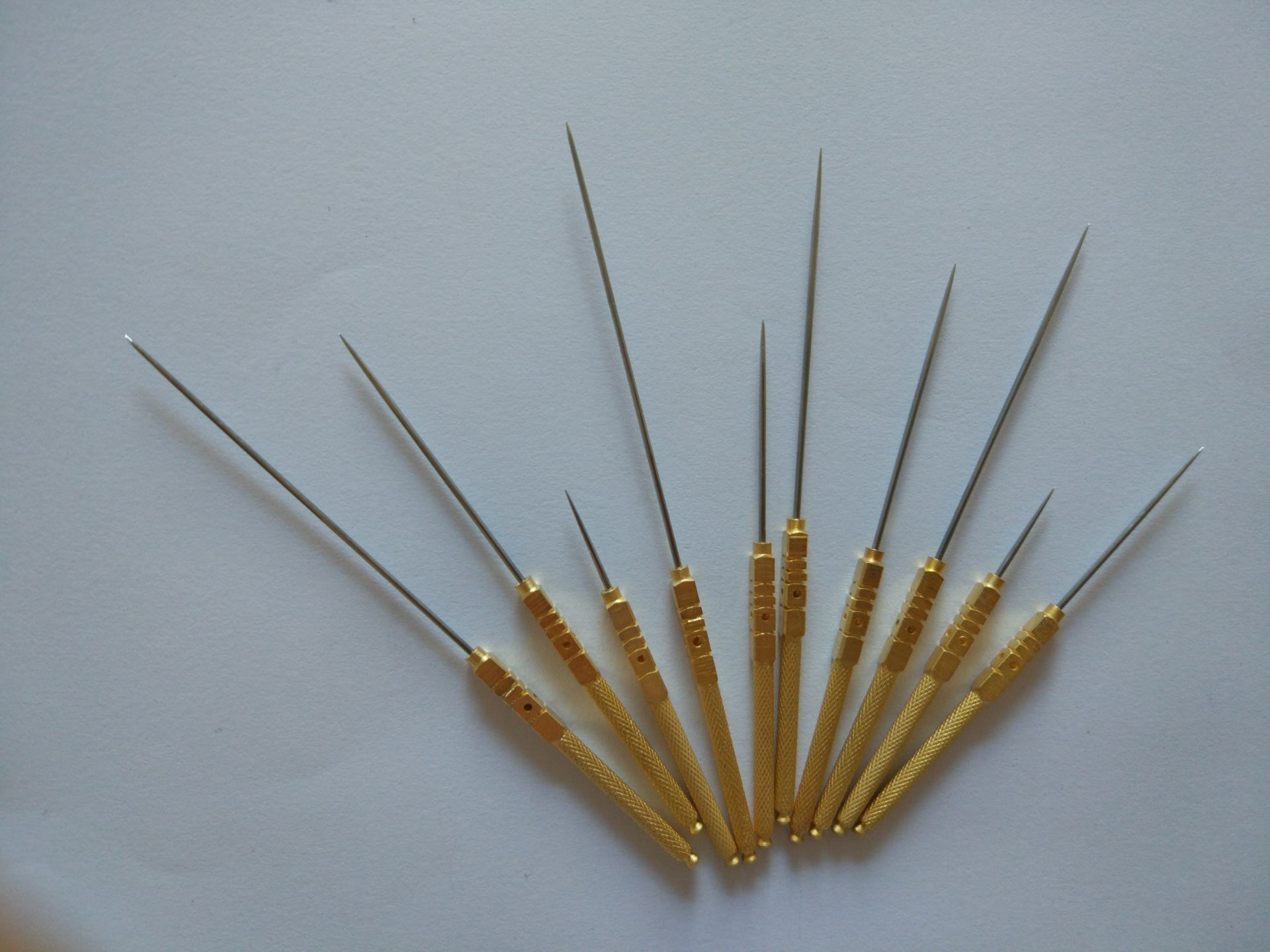 genuine four hole acupunctuer needle single point non ...