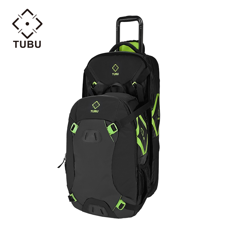 TUBU 6090 Trolley Case SLR Camera Bag Shoulder Bag Multi function Large Capacity Professional Anti theft