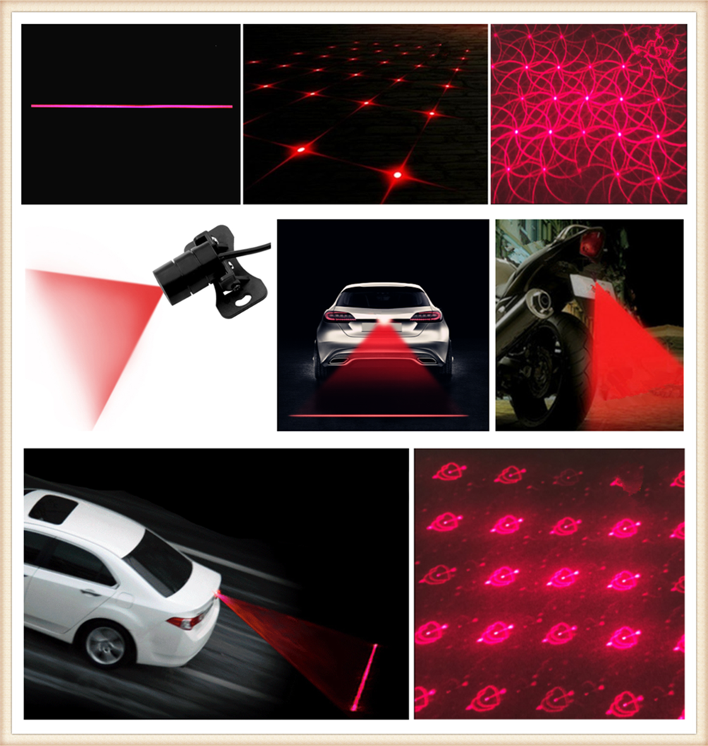 Haichen 2pcs Led License Number Plate Light Lamp Car Parking Exterior Lamp