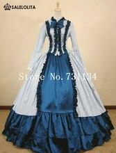 ベストセラーホワイトストライプ綿南部美人の衣装中世南北戦争ビクトリア朝のドレス女性