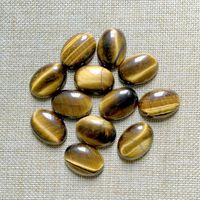 Free Shipping Natural Stone Cabochon Oval 18x25 Mm Tiger Eye Stone Cabochon DIY Pendant Jewelry Onyx
