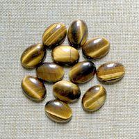 Free Shipping Natural Stone Cabochon Oval 18x25 Mm Tiger Eye Stone Cabochon DIY Pendant Jewelry Onyx
