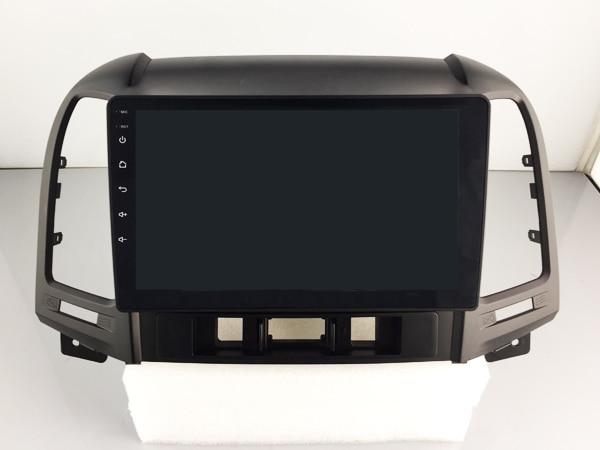 OTOJETA DSP stereo carplay android 8.1.2 car radio for Hyundai Santa Fe IPS screen bluetooth player Wifi GPS tape recorder