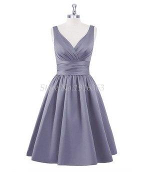 ANTI  New Arrival 2019 Bridesmaid Dresses Pleat Vestido De Festa De Casamento For Wedding Dress Party Dress Formal Gowns