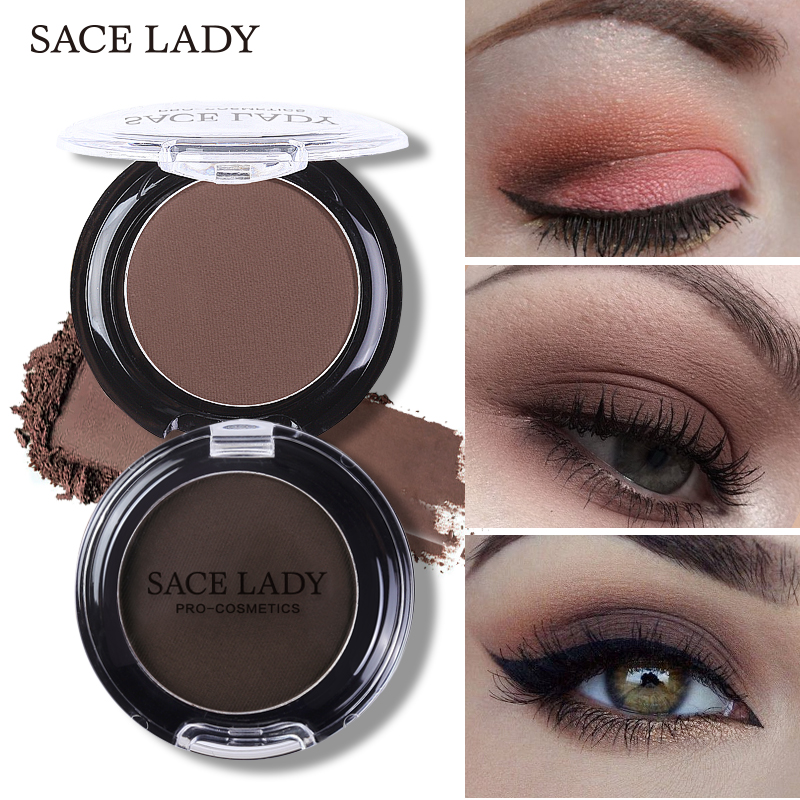 SACE LADY Naturalny matowy cień do powiek Wodoodporna paleta 18 kolorów Pigmentowy nude Eyeshadow Makeup Brand Beauty Make Up Cosmetic