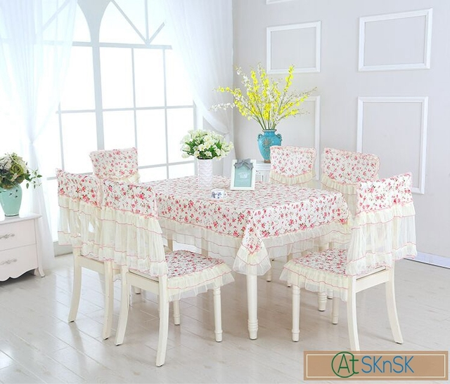 Hot sell full sets 9pcs diy rustic garden floral table cloth home hot sell full sets 9pcs diy rustic garden floral table cloth home wedding decoration lace table junglespirit Gallery