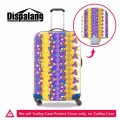 Dispalang popular floral prints elastic suitcase protective covers for 18-30 inch travel trolley case travel luggage accessories
