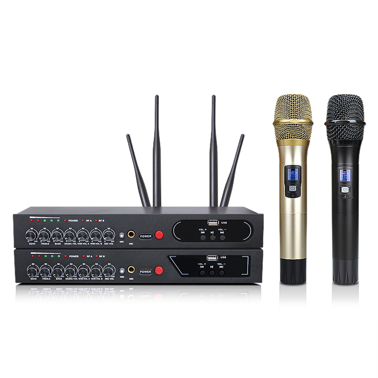 Image 5 - MU 6S Karaoke Microphone Bluetooth Microphone For Computer Studio Microphone Wireless Microphone Lectures Handheld Microphone-in Microphones from Consumer Electronics