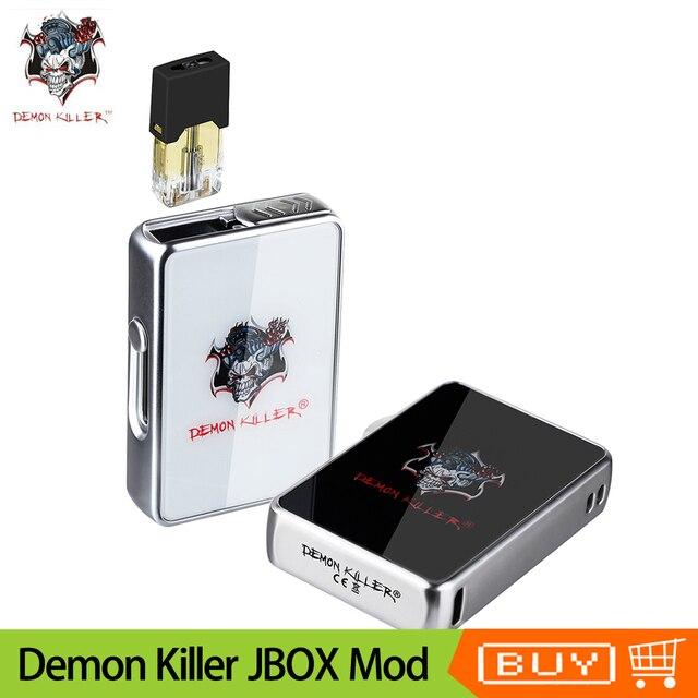 Demônio Assassino Do JBOX Mod 420mAh bateria Interna Original Vape Mod fit JBOX Bobina de Cerâmica Do Cartucho E Cigarro Pod Pod vaporizador