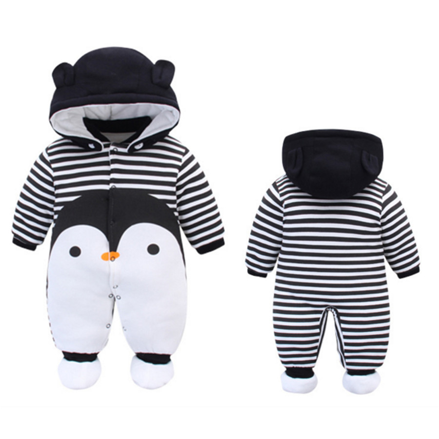 New Baby Winter Romper Cotton Padded Thick Newborn Baby Girl boy Warm Jumpsuit Autumn Fashion Baby's Wear Kid Climb Clothes 2017 new baby winter romper cotton padded thick newborn baby girl warm jumpsuit autumn fashion baby s wear kid climb clothes