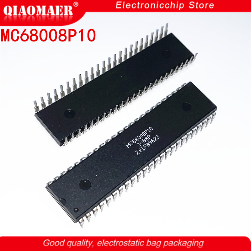 MC68008P10 MC68008P MC68008P12 MC68008 DIP48 32-BIT, <font><b>10</b></font> <font><b>MHz</b></font>, MICROPROCESSOR, PDIP48 Brand new original authentic image