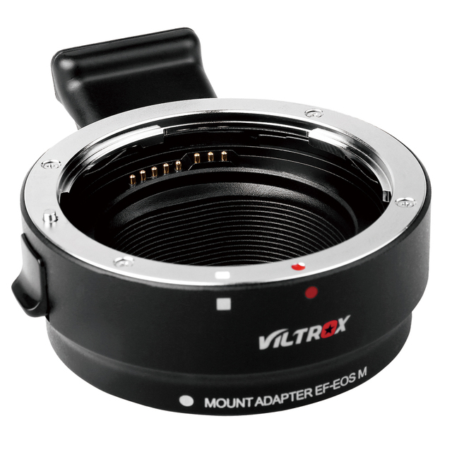 Профессиональные Viltrox EF-EOS M Металл Электронная Объектив с Автофокусировкой Переходное для EF EF-S Объектив EF-M EOS M камера